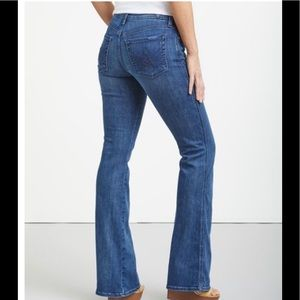 Seven for all mankind Lexi Bellbottom petite jeans